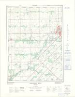 Strathroy West, ON. 1:25,000. Map sheet 040I13G, [ed. 1], 1972