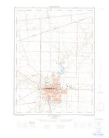 St Thomas, ON. 1:25,000. Map sheet 040I14B, [ed. 1], 1964
