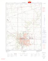 St Thomas, ON. 1:25,000. Map sheet 040I14B, [ed. 2], 1973