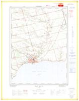 Port Dover, ON. 1:25,000. Map sheet 040I16B, [ed. 1], 1971