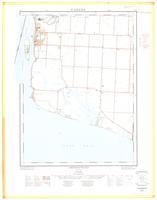 Amherstburg, ON. 1:25,000. Map sheet 040J03A, [ed. 1], 1961