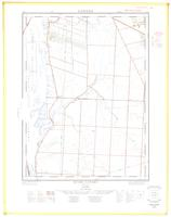 River Canard, ON. 1:25,000. Map sheet 040J03H, [ed. 2], 1962