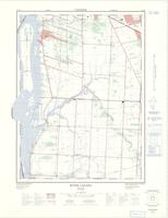 River Canard, ON. 1:25,000. Map sheet 040J03H, [ed. 3], 1974
