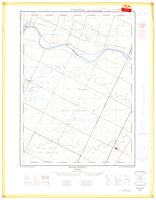 Middleport, ON. 1:25,000. Map sheet 040P01A, [ed. 1], 1964