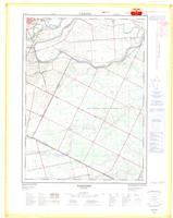 Hartford, ON. 1:25,000. Map sheet 040P01B, [ed. 2], 1976