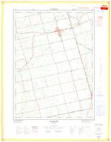 Burford, ON. 1:25,000. Map sheet 040P01D, [ed. 1], 1969