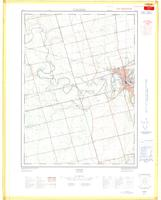 Paris, ON. 1:25,000. Map sheet 040P01E, [ed. 1], 1968