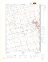 Paris, ON. 1:25,000. Map sheet 040P01E, [ed. 2], 1976