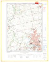 Brantford West (-St George), ON. 1:25,000. Map sheet 040P01F, [ed. 1], 1968