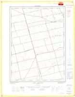 New Durham, ON. 1:25,000. Map sheet 040P02A, [ed. 1], 1968