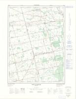 New Durham, ON. 1:25,000. Map sheet 040P02A, [ed. 2], 1976