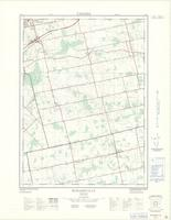 Burgessville, ON. 1:25,000. Map sheet 040P02B, [ed. 1], 1968