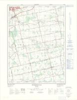 Burgessville, ON. 1:25,000. Map sheet 040P02B, [ed. 2], 1976