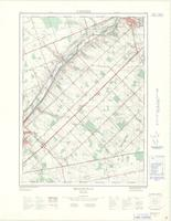 Beachville, ON. 1:25,000. Map sheet 040P02C, [ed. 1], 1968
