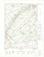 Beachville, ON. 1:25,000. Map sheet 040P02C, [ed. 2], 1976