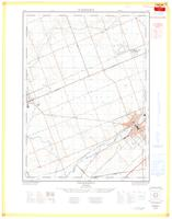 Ingersoll, ON. 1:25,000. Map sheet 040P02D, [ed. 1], 1964