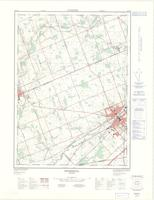 Ingersoll, ON. 1:25,000. Map sheet 040P02D, [ed. 2], 1976