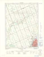 Woodstock West (-Hickson), ON. 1:25,000. Map sheet 040P02F, [ed. 1], 1968