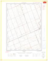 Evelyn, ON. 1:25,000. Map sheet 040P03A, [ed. 1], 1964