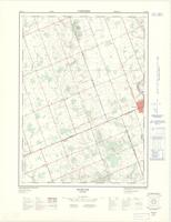 Evelyn, ON. 1:25,000. Map sheet 040P03A, [ed. 2], 1973