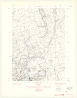 Crumlin, ON. 1:25,000. Map sheet 040P03B, [ed. 1], 1961