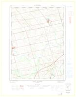 New Dundee, ON. 1:25,000. Map sheet 040P07A, [ed. 1], 1964