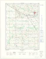 Wellesley, ON. 1:25,000. Map sheet 040P07F, [ed. 2], 1972