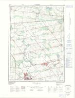 New Hamburg, ON. 1:25,000. Map sheet 040P07G, [ed. 2], 1976
