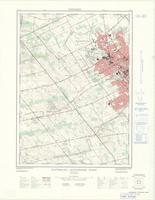 Waterloo - Kitchener, ON. 1:25,000. Map sheet 040P07H, [ed. 1], 1969