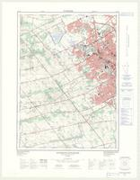 Waterloo - Kitchener, ON. 1:25,000. Map sheet 040P07H, [ed. 2], 1976