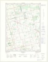 Sheffield, ON. 1:25,000. Map sheet 040P08B, [ed. 2], 1975