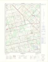 Aberfoyle, ON. 1:25,000. Map sheet 040P08G, [ed. 2], 1976