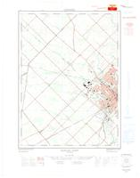Guelph - Ariss (Guelph West), ON. 1:25,000. Map sheet 040P09C, [ed. 1], 1965