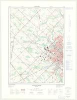 Guelph - Ariss (Guelph West), ON. 1:25,000. Map sheet 040P09C, [ed. 2], 1975