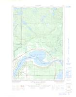 Little Lake George, ON. 1:25,000. Map sheet 041K09B, [ed. 1], 1965
