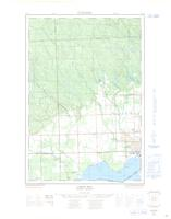 Leigh Bay, ON. 1:25,000. Map sheet 041K09D, [ed. 1], 1965