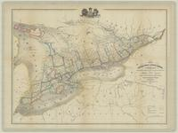 Map of Canada West or Upper Canada, compiled from government plans, original documents, and personal observation.