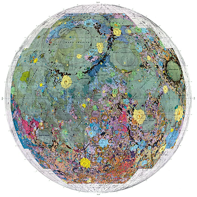 Geologic Atlas of the Moon (1962-1976)