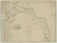 Plan of the north shore of Lake Superior