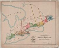 A plan of the organized part of the Province of Upper Canada