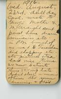 Diary 2. 1916 August-November.