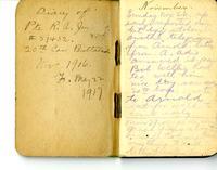 Diary 3. 1916 November-1917 May.