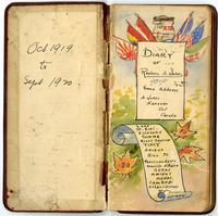 Diary 9. 1919 October-1920 September.