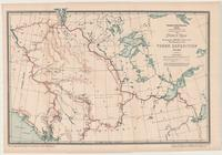 Index Map Shewing the Routes Followed by the Members of the Yukon Expedition, 1887-1888