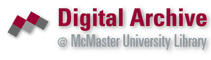 Digital Archive at McMaster University Library NEW